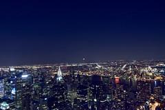New York at Night (Manish K Mittal) Tags: empirestate newyork night