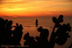 Filicudi - Tramonto a Siccagni. (CyboRoZ) Tags: filicudi alicudi siccagni sicilia sicily island isola twilight eolie aeolian aeolianislands filicudiisland orange
