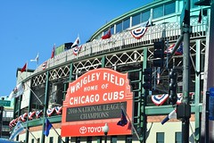Go...Cubs...Go (stevelamb007) Tags: chicago illinois wrigleyfield sign stevelamb nikon d7200 50mmf18 cub chicagocubs