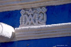 Santa Catalina Monastery - Arequipa Peru (WanderingPhotosPJB) Tags: blue peru arequipa santacatalina saintcatherine monastery convent white
