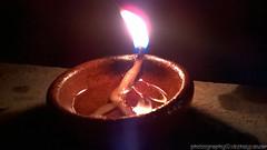 Diwali Diya ( ) Tags: diwali deepavali diya divva deepa deepam deepak oillamp claylamp lamp cottonwick gheelamp vegetableoillamp hindu diwalifestival diwalifestival2015 hindufestival diwalicelebration india maharashtra tulajpur tulajpur2015 diwali2015 night light decorations lantern holiday biggestfestival