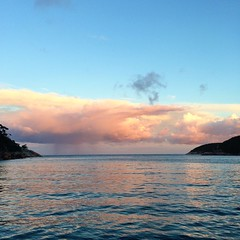 Sunset. Refuge Cove, Wilsons Promontory.