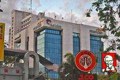 Lokal dan Asing (BxHxTxCx (using album)) Tags: surabaya building gedung architecture arsitektur office kantor