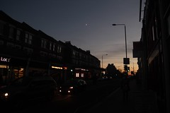 IMG_8166 (flaviomatani) Tags: dusk evening london kentishtown tufnellpark moon sunset local