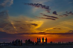 Prime Time (Notkalvin) Tags: sunset crowd hollandstatepark holland michigan sundown notkalvin mikekline notkalvinphotography beach live life beautifulnature