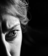 Eye (D'Angelo Salvatore) Tags: blackandwhite occhio eye luce light monocromo monochrome monocromatico face ritratto portrait
