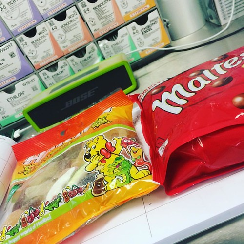 Another theatre list another pile of #sugar #surgery