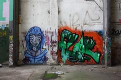 ... flak (wallsdontlie) Tags: graffiti cologne abandoned flak character gipsy