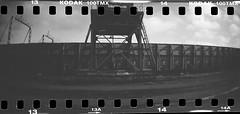 sprocket (rotabaga) Tags: sverige sweden svartvitt sprocket sprocketography sprocketrocket göteborg gothenburg lomo lomography tmax100 diy blackandwhite bw bwfp