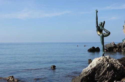 Ballet Dancer Statue, Budva