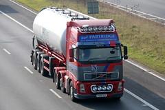 WX56HJF - Nigel Partridge-001 (TT TRUCK PHOTOS) Tags: m5 strensham tt volvo fh nigel partridge