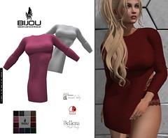 .Bijou ~ Little Sweetheart Top (BijankRau | [ photograp'r model.]) Tags: fashion bijou shopping closet collection getit sl secondlife virtualworld blond maitreya belleza slink hud driven textures colors