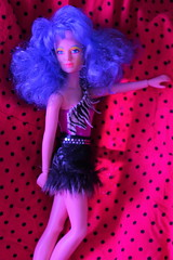 Top of the charts (Vuffy VonHoof) Tags: jem holograms misfits misfitz misfats 80 intage retro vintage toy toys doll dolls neon pizzazz roxy stormer clash jetta photography photo band fun