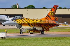 FA77 (GH@BHD) Tags: fa77 generaldynamics lockheedmartin f16 f16a f16am fightingfalcon belgianairforce belgianaircomponent tiger tigersquadron specialcolours riat riat2016 royalinternationalairtattoo raffairford fairford aircraft aviation