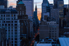 Skyline 2 (dannyvulf) Tags: america brooklyn building contrast canon canon700d composition canont5i cars detail dark framing h highcontrast lines night light sky skyline longexposure lexington nyc ocean photo
