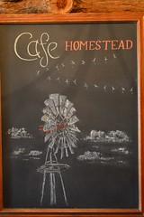 Cafe Homestead (radargeek) Tags: homesteadheritage waco tx texas chalk art windmill