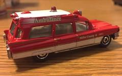 Cadillac ambulance by Matchbox. (Chicago Rail Head) Tags: cadillac ambulance diecast mattel matchbox model 1963