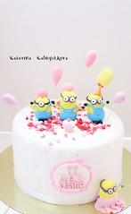 IMG_8388 (КатяХан) Tags: торт тортнаденьрождения торты fondantcake minionscake cake
