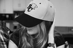 330/365 (Ell@neese) Tags: girl woman portrait blackandwhite bc lions canada 365