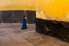 El Jadida (.sl.) Tags: eljadida maroc people streetphotography muslim citportugaise morocco street women yellow