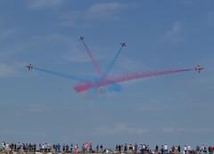 Red Arrows (JuliaC2006) Tags: kent airshow planes redarrows hernebay