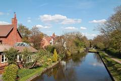Canal at Lapworth (ianjoseph273) Tags: bridge water canal spring locks warwickshire lapworth