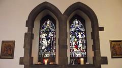 Saint Michael & All Saints 02 (byronv2) Tags: building history church window architecture edinburgh religion stainedglass kirk tollcross doorsopenday broughamstreet edimbourg saintmichaelandallsaints doorsopenday2015 rrowandanderson