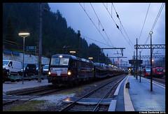 VTG-Rail 193 872, Brennero 1-8-2015 (Henk Zwoferink) Tags: auto italia alpen henk brennero italië trenitalia adige autoslaaptrein trentinoaltoadige autoexpress trentinoalto eetc autotrein treinreiswinkel railexperts zwoferink gattern msmgruppe