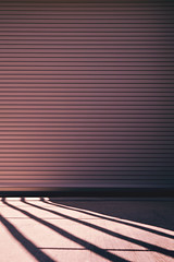 (L. Paul) Tags: door abstract pool lines swimming shadows mountpleasant iowa minimalism garagedoor warmtones henrycounty
