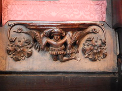 DSCN1907 (Richard Paul Carey) Tags: cathedral medieval carlisle misericords carvedwoodwork