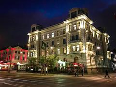 Gothenburg, Sweden (Paddy O) Tags: night sweden gothenburg historicbuilding 2015