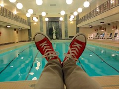 Red (pool) shoes (benlarhome) Tags: ontario canada ottawa parliament government parliamenthill chateaulaurier