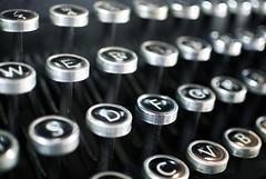 Old typewriter (Pewari) Tags: typewriter keys antique worcester commandery