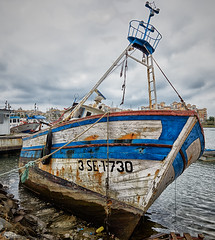 Tired Trawler (nigelboulton72) Tags: fishing trawler puntadelmoral