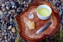 tea time (kyokokobayashi) Tags: crystals tea greentea healing teatime teaparty sencha japanesetea tearitual rustictea