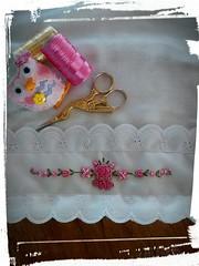 11009981_653433038112115_1046500649886667269_n (Dona Bella Atelie) Tags: de boca mo rococo rococ bordada fralda