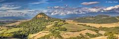 Toskana Panorama 11101501 (Klaus Kehrls) Tags: italien panorama natur felder himmel wolken berge landschaft toskana wlder