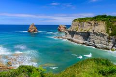 Corniche Basque (a3aanw) Tags: sea cliffs frankrijk pyrénéesatlantiques cornichebasque nikond800 zomervakantie2015