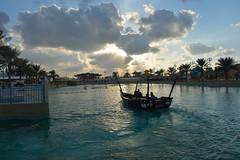 Clouds (Sreejesh Kalari Valappil) Tags: dubai clouds uae boats lake globalvillage дубай 迪拜 دبي
