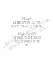 A Tilly & Sprite Reindeer Holiday #4INSIDEWM (Lizzy Love ♥ Oddball Art Co.) Tags: santa christmas cute eye art love reindeer cards big holidays paintings hats creepy antlers elf fox kawaii greeting bats lizzy 2015 oddballart
