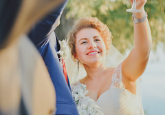 Marriage (IcedFREELANCER) Tags: family woman white glass girl smile bride marriage happiness joyful dressed