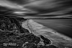 Tidal (Paul T McDowell Photography) Tags: uk autumn ireland bw seascape monochrome canon season landscape photography unitedkingdom sigma downhill northernireland beech ulster 2015 canon500d sigma1020mmf456exdchsm colondonderry leefilters lee09ndgrad leebigstopper paultmcdowellphotography