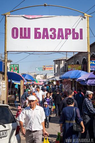 Bazar Osz w Biszkeku