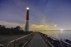 Light Up The Night (seanbeebe_photo) Tags: barnegatlighthouse nj newjersey lbi longbeachisland longexposure lighthouse barnegatbay night nightphotography