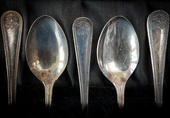 PA100030 Antique spoons (sarasocke) Tags: sppons antique lffel silver silber