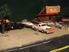Off to the lake  10/15/2016 (THE RANGE PRODUCTIONS) Tags: greenlight ertl model matchbox autoworld diecast dioramas diecastdioramas modellayout toy hoscalefigures 164scale