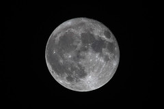October 2016 Supermoon Full Moon (luigig75) Tags: moon supermoon october 2016 ottobre luna 70200f4l canonef70200mmf4lusm kenko 2x 70d