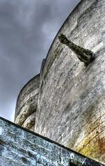 Chteau fort de Droizy - France (Emmanuel Dyan) Tags: droizy france aisne castle medievalcastle oldrocks hdr gargouille gargoyle chteau fort medieval mdival