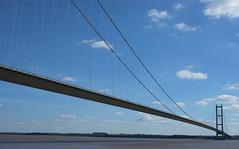 Humber Bridge (dean.clementson) Tags: belgianbuns2016 cycletouring eastyorkshire humberbridge bikerides bridges
