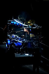 Mike Mangini (Ludovica Vailati) Tags: concert music dream theater prog evening effects darkness contrast rome july summer good time action frame pic power blue silver
